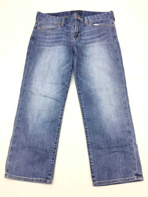 Lucky Brand Womens Jeans Size 10 Sweet Jean Crop Blue Denim