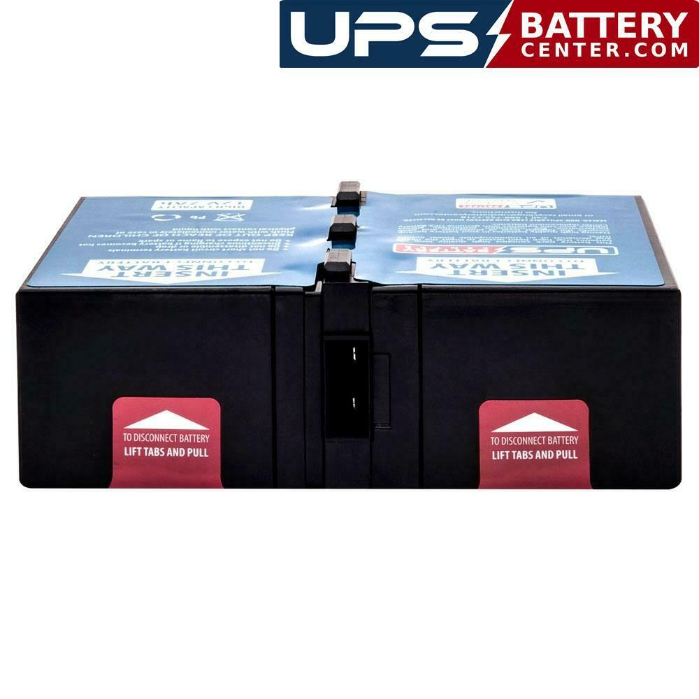 New Battery Pack for APC SU700X93 Smart UPS 700VA Shipboard Compatible Replacement by UPSBatteryCenter