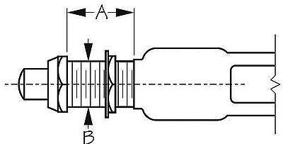 Sea Dog 420426-1  Splash Garde Horn Button Switch