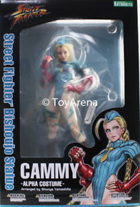 Kotobukiya Cammy Alpha Costume Street Fighter Statue Bishoujo Sv178 En Stock 190526000780