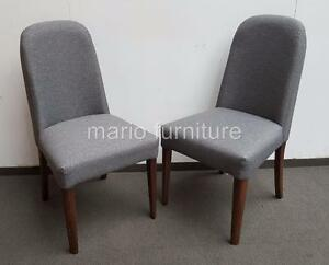 Surprising Details About Next Como Upholstered Dining Chair Set Of 2 Brand New In Box Andrewgaddart Wooden Chair Designs For Living Room Andrewgaddartcom