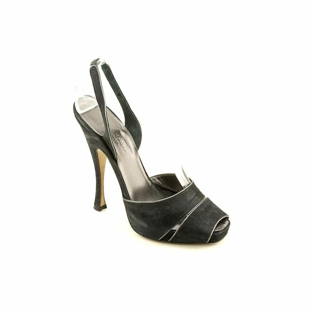Damens KARAN COLLECTION Slingback Platform Pump NIB S 8 EU 38 NIB Pump 06801e