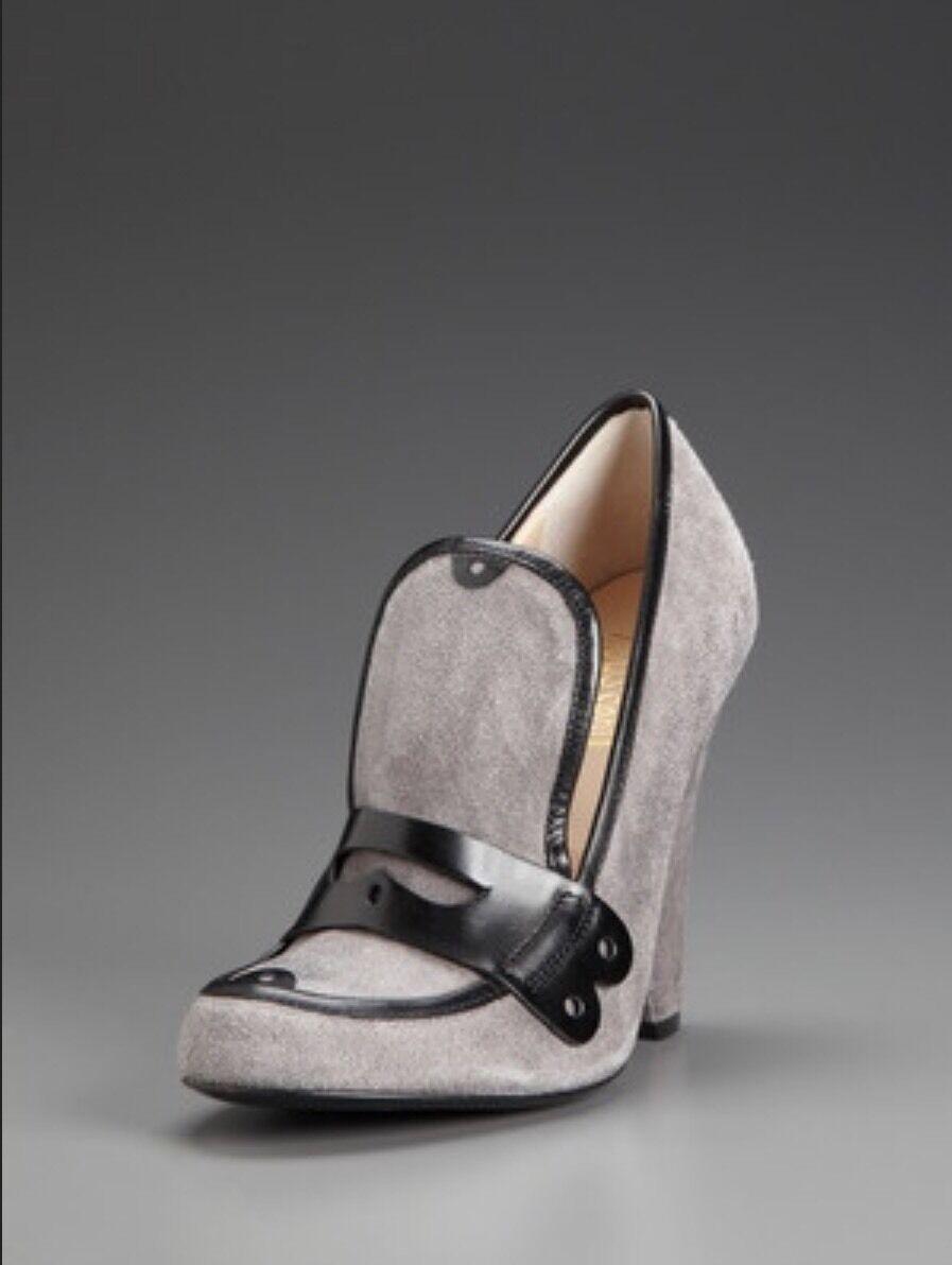 JEROMA C.ROUSSEU MOC  scarpe DISTRESS SUEDE, ITLAY,US 40 595  Value  economico e alla moda