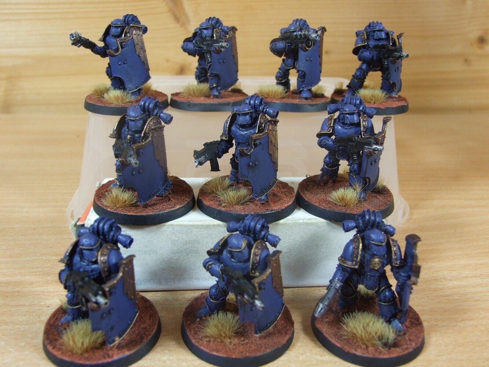 10 forgeworld azul ultramar breachers Pintado (207)