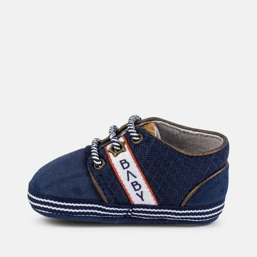Designer MAYORAL Baby Boys Pre Walking Trainer Style Shoe WAS £16.00 NOW £7.99