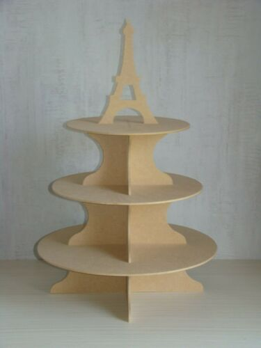dragées Presentoir en bois MDF motif au choix à personnaliser pour cup cake