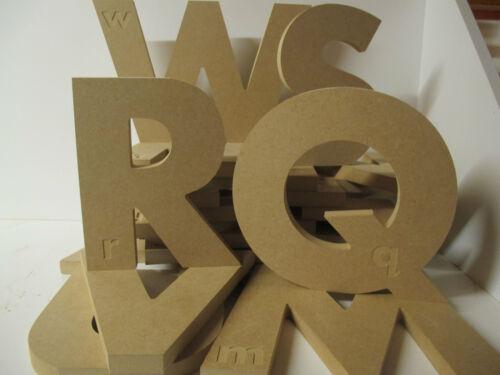 En bois alphabet éducatif lettres de 18 mm d/'épaisseur baignoir