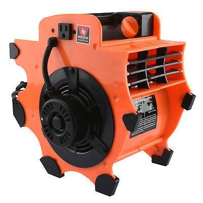 Industrial Air Mover | Fan Blower Floor Carpet Dryer Portable Lightweight