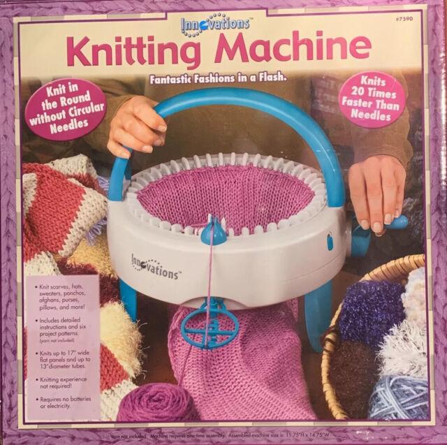 Innovations Circular Knitting Machine 7590 Knits 20x ...