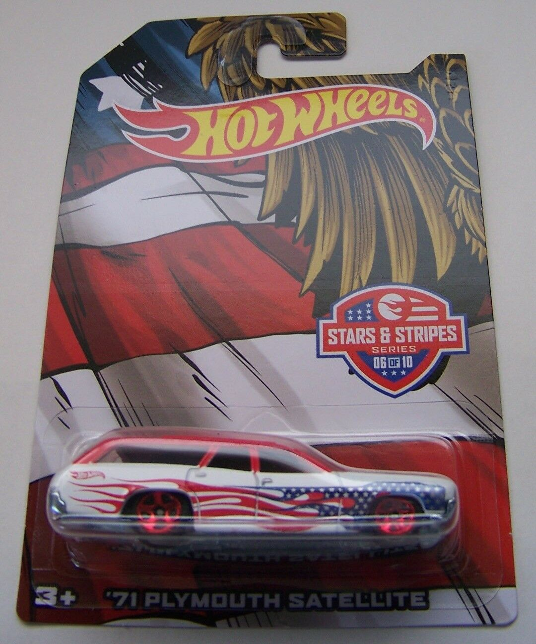 2016 Hot Wheels Stars & Stripes Complete Set of of of 10 Factory Box Never Opened 03c75c