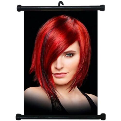 sp217048 Hairstyles Wall Scroll Poster For Barber Shop Salon Haircut Display