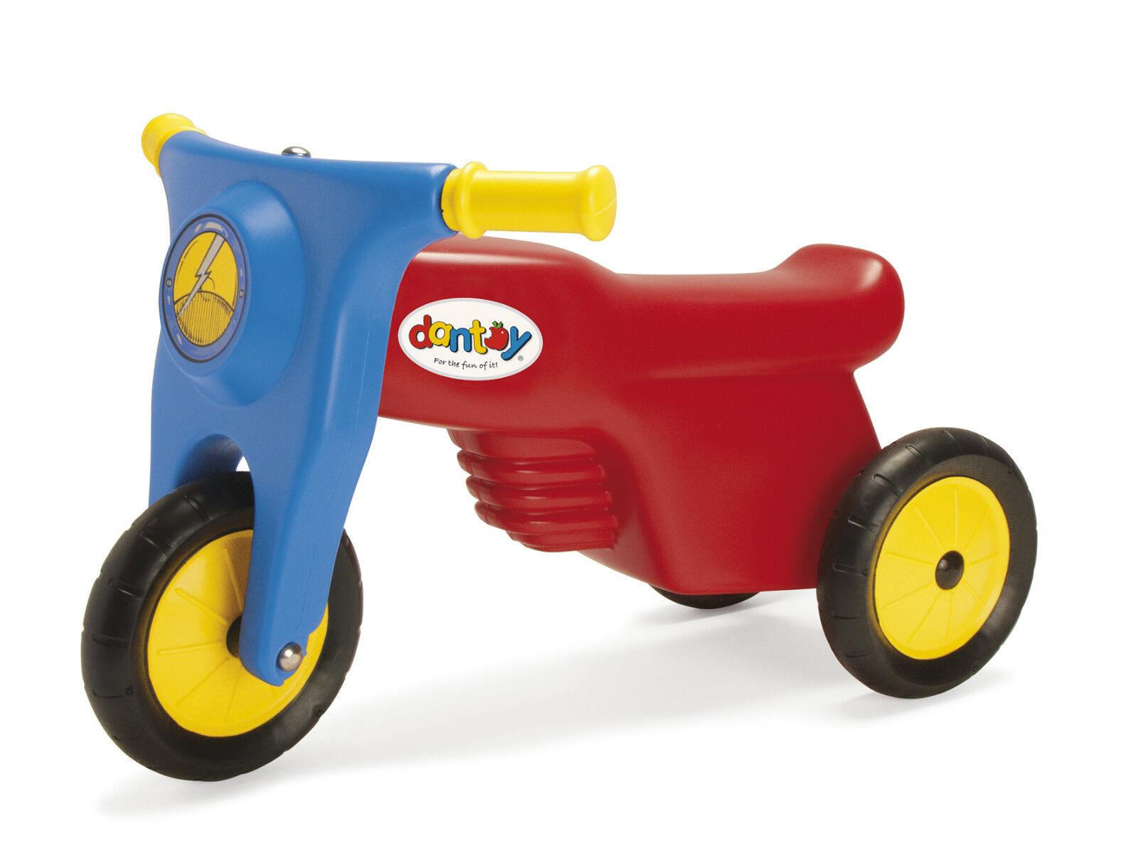 Robuste Dantoy Enfants Moto Moteur Vélo - Mini Racer avec Caoutchouc Roues