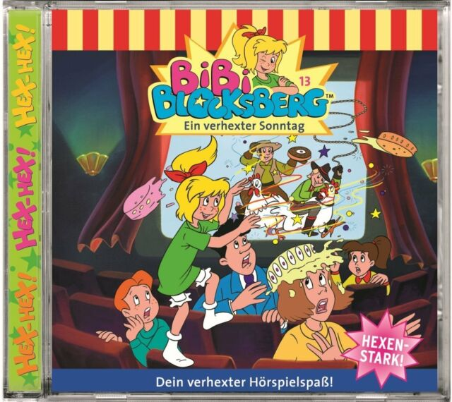 CD * BIBI BLOCKSBERG - HÖRSPIEL 013 - EIN VERHEXTER SONNTAG # NEU OVP KX