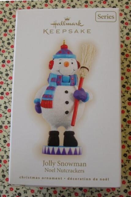 Hallmark 2009 Noel Nutcracker #2 Series Jolly Snowman Christmas Ornament