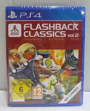 ATARI FLASHBACK CLASSICS VOL. 2 - SONY PS4 PLAYSTATION 4 NEW SEALED