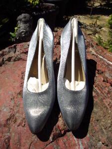 indossato 39 d Ferragamo da mai Salvatore sera scarpe Nuovo 5 8 argento gr pumps UqzwOvZ