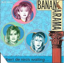 "45 TOURS / 7"" SINGLE--BANANARAMA--ROBERT DE NIRO'S WAITING--1984"