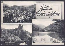 GENOVA ISOLA DEL CANTONE 08 LAGO NOCETO - SALUTI da... Cartolina viaggiata 1959