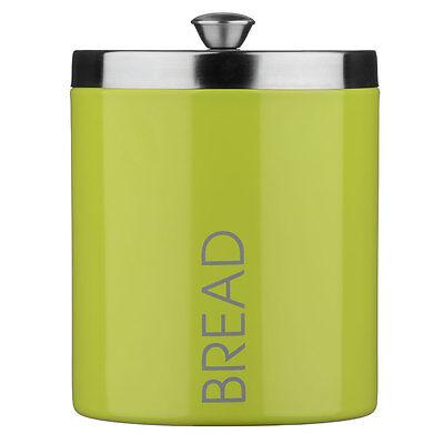 Amazing New Style Premier Housewares Large Bread Bin Lime Green Enamel Colour