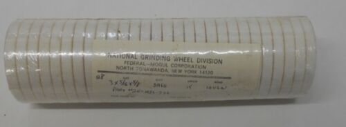 "211-1086-350 3/"" x 5//16/"" x 5//8/"" LOT OF 28 NATIONAL GRINDING WHEEL SA60-K-10V6W"