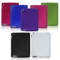 Silicone Soft Skin Back Case Cover for iPad 4th 3rd 2nd Gen Retina Display 2 3 4