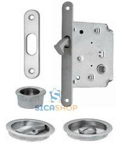 Kit maniglia porta scorrevole con nottolino serratura e - Maniglia porta scorrevole ...