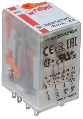 R3N-2013-23-5110-Wtl 11-Pin Industrial Relay 10A 3Pco 110V