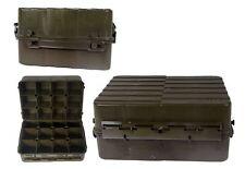 NATO Transportkiste Munitionskiste Kunststoff oliv gebraucht Werkzeugkiste Lager