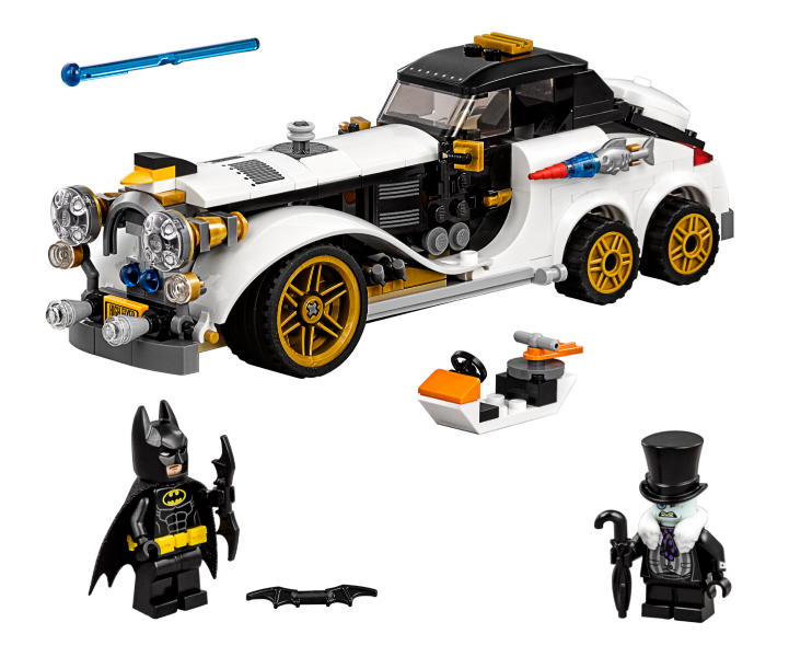 Lego - Set 70911 Batuomo - The Penguin Arctic Roller  - completare   Instructions  Miglior prezzo