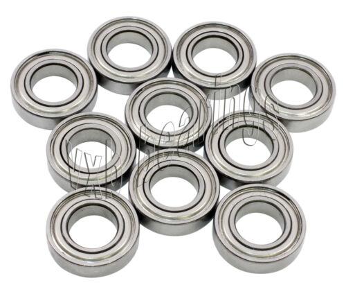 10 Bearing Shielded 4 x 7 x 2.5 mm VXB Metric Bearings
