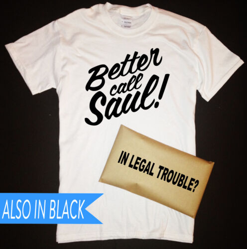 Breaking Bad Better Call Saul T-Shirt with In Legal Trouble Packaging Goodman