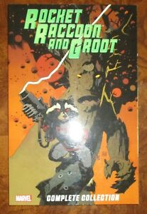 Rocket Racoon and Groot MARVEL TPB Graphic Novel NEW Incredible Hulk 181
