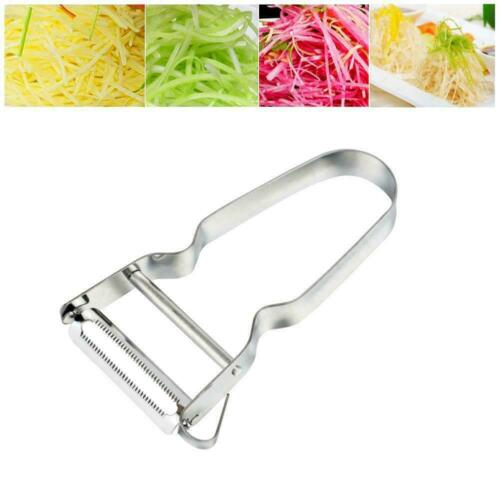 Stainless Steel Potato Fruit Peeler Vegetable Grater Cooking Kitchen New To L6S8