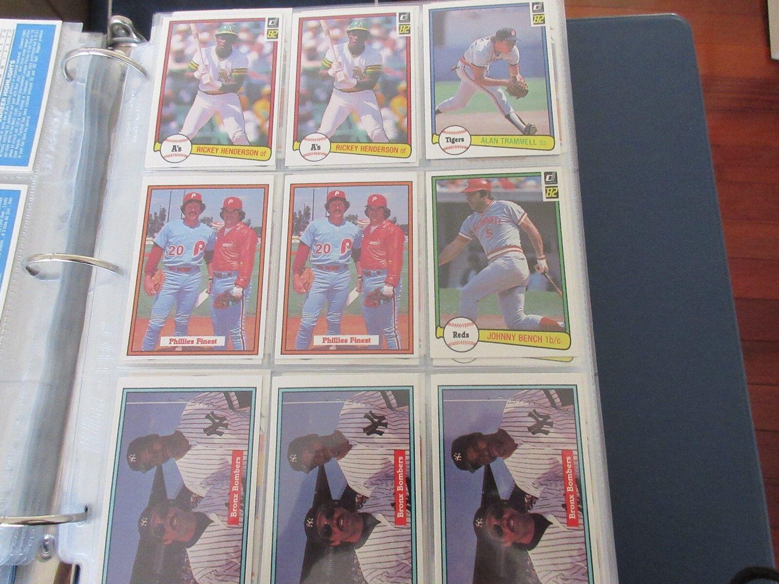 Donruss , 1982 , Baseball Cards , Lot of 150 Cards