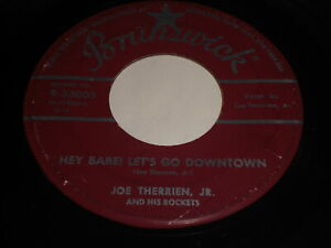 Joe-Therrien-Jr-Hey-Babe-Let-039-s-Go-Downtown-Come-Back-To-Me-45-Rockabilly