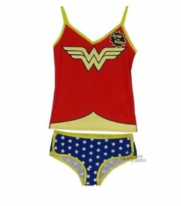 1a83d64c3b Image is loading Wonder-Woman-Symbol-DC-Comics-Junior-Camisole-And-