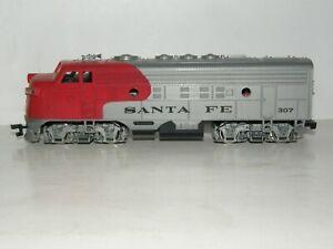 Bachmann Ho Scale 307 Santa Fe F7 Diesel Locomotive Ebay
