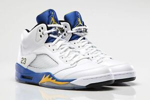 promo code bf7df 28ffb Image is loading Nike-Air-Jordan-5-V-Retro-Laney-Size-