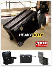 Horse Tack Trunk Tool Box Large Mobile Footlocker Storage Safe Wheels Supplies