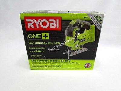 Ryobi ONE+ 18 Volt 18V NiCd or Lithium Ion Cordless Jig Saw P523 replaces P521