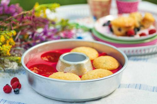 Orig.Omnia Muffinbackform  und Muffin Kochbuch für den Omnia Backofen Camping