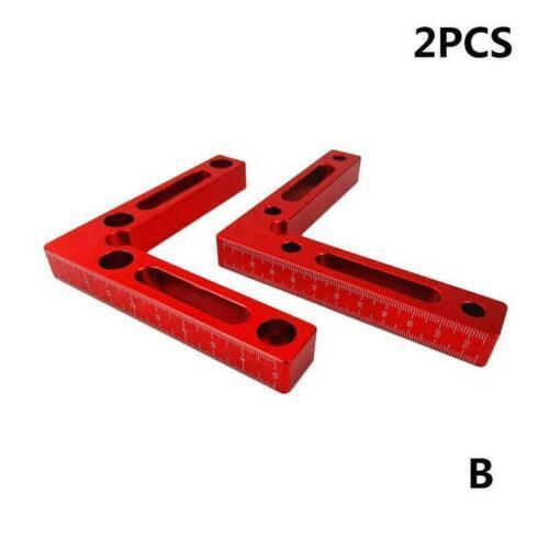 Positionierung Holzverarbeitung Tischler Werkzeug Rechtwinklig Clamp Corner V5M3