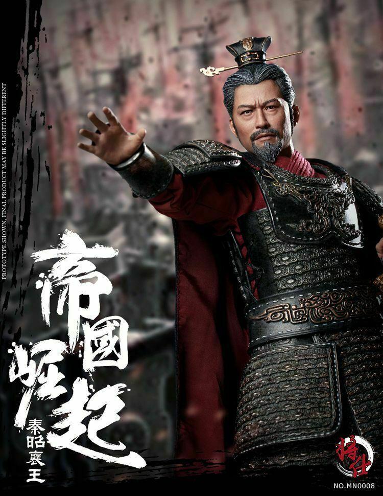 1 6 MN008 jsmodel King Zhaoxiang de Qin Ying Ji Di Zhou Warring Estados figura