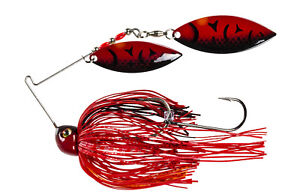 Strike-King-Spinnerbait-Painted-Blade-Tour-Grade-TGSB12WW-648P-Chili-Craw