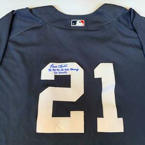low priced c7bdf 7d3d7 Details about Paul O'neill 1996, 1998, 1999 '00 World Series Champs Signed  Yankees Jersey JSA