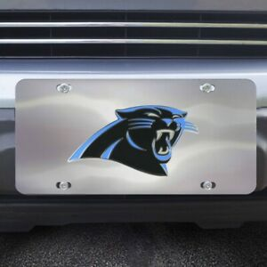 Team Color Rico Industries NFL Carolina Panthers Unisex Carolina Panthers License Plate Metalcarolina Panthers License Plate Metal One Size