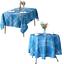 miniature 15 - Imperméable Nappe Home Table de salle à manger Protecteur Rond/Rectangulaire Table Housse
