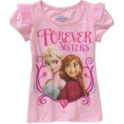 Disney Frozen Toddler Girls T-Shirts Elsa Anna Olaf Various Toddler Sizes NWT