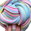 1pcs-Kids-Fluffy-Floam-Slime-Mastic-parfumee-Stress-Relief-argile-enfants-jouets miniature 12