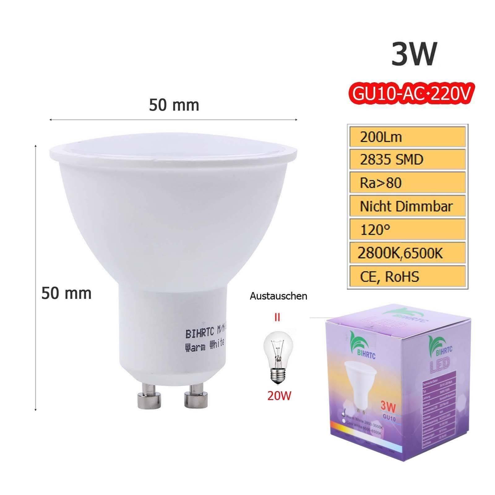 GU10 GU10 GU10 MR16 MR11 2W 3W 4W 5W LED Glühbirne Strahler Lampe Spot Leuchtmittel Leucht     | Vielfältiges neues Design  | Exquisite Handwerkskunst  | Niedriger Preis  c0df36